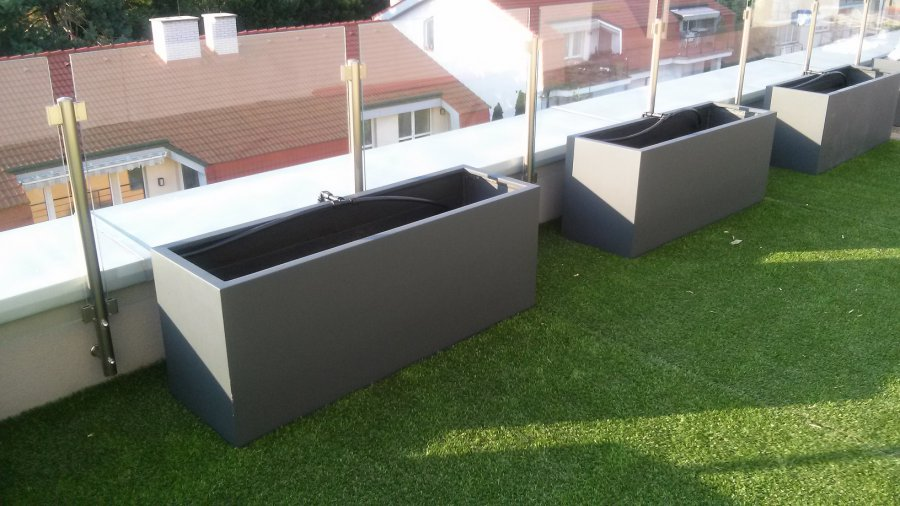 dachterrassen als gr ne oasen arkadia gartengestaltung berlin. Black Bedroom Furniture Sets. Home Design Ideas