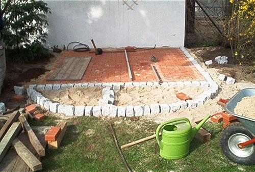 terrassenbau in berlin terrasse anlegen und bepflanzen. Black Bedroom Furniture Sets. Home Design Ideas